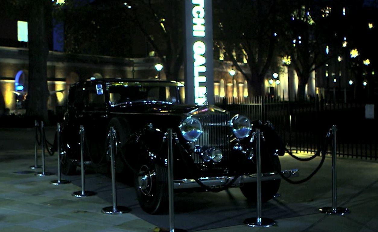 Rolls-Royce Exhibition Opens at London's Saatchi Gallery