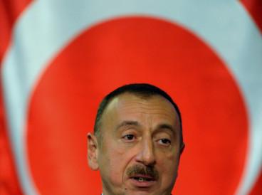 The President of Azerbaijan Ilham Aliyev