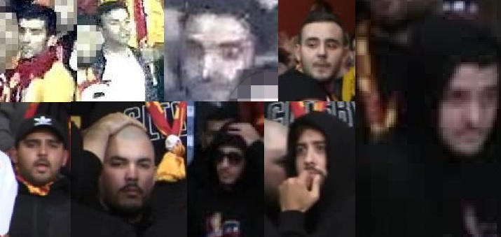 Galatasaray vs Arsenal fans