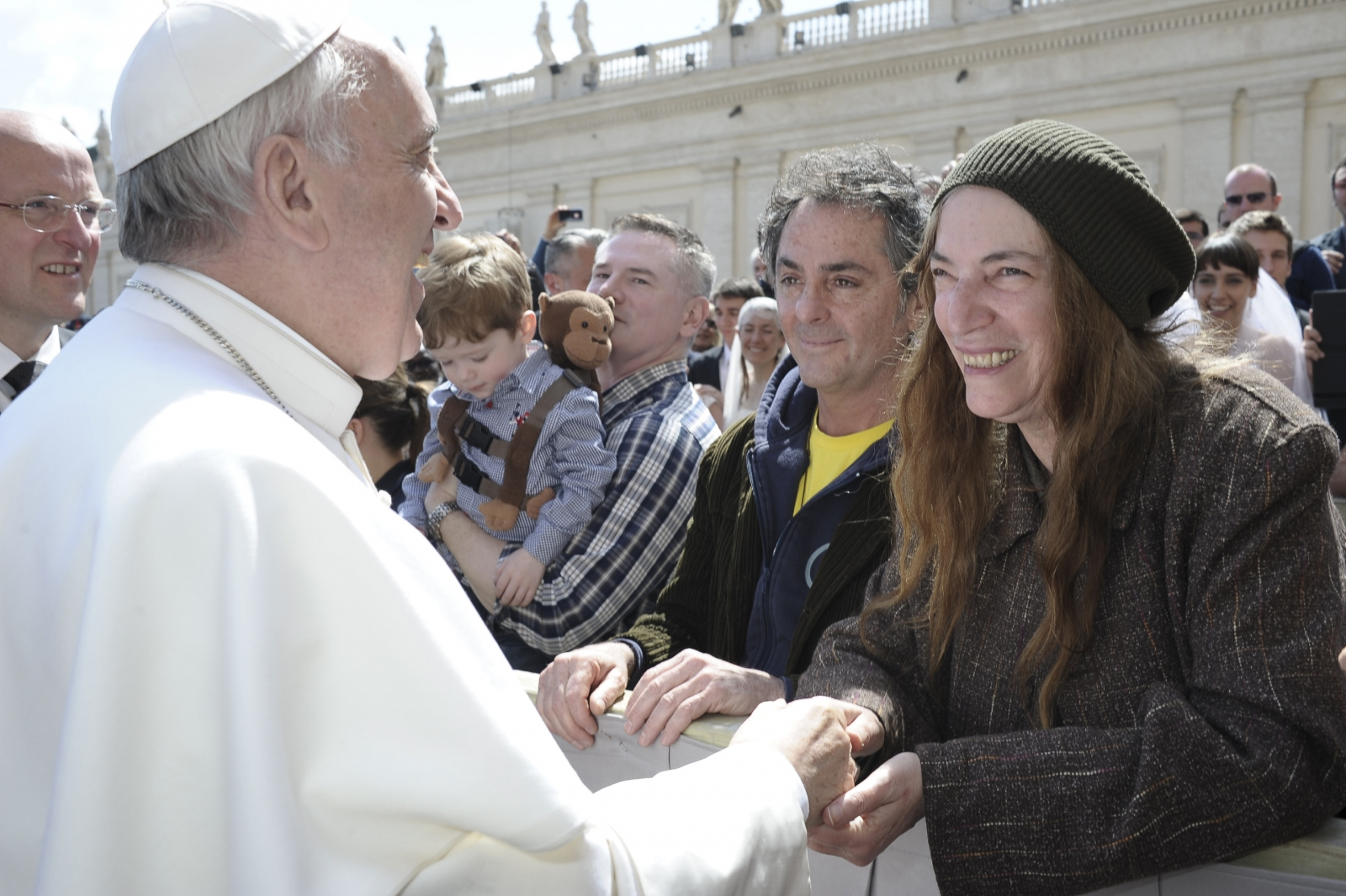 Patti Smith Pope Francis