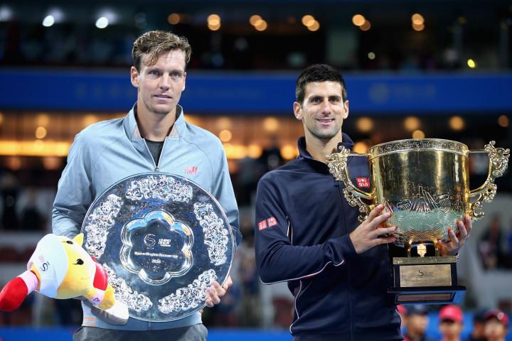 Novak Djokovic v Tomas Berdych