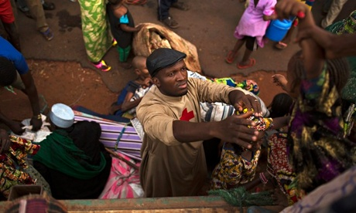 Father Bernard Kenvi Central African Republic