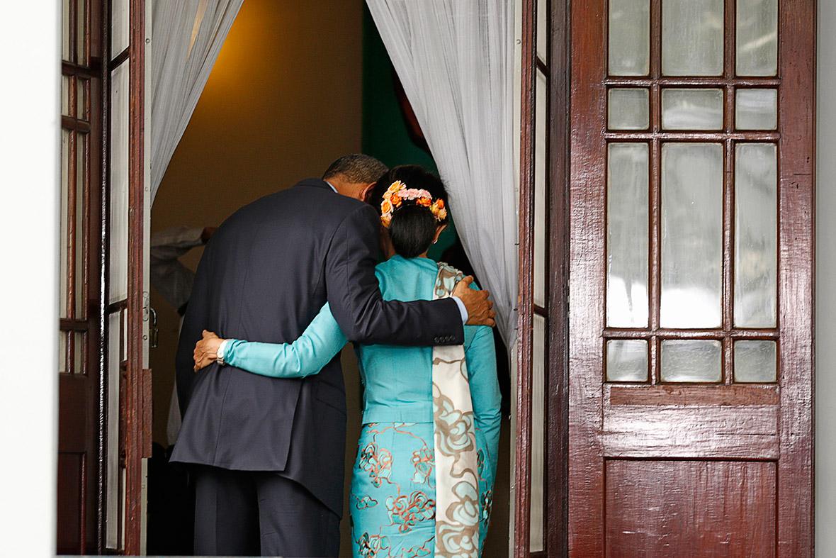 obama aung san suu kyi