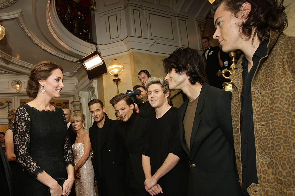 kate middleton pregnant one direction