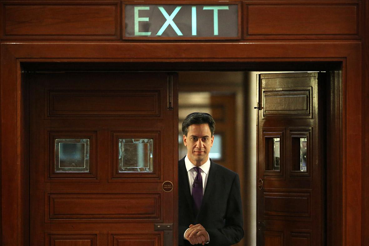 ed miliband exit