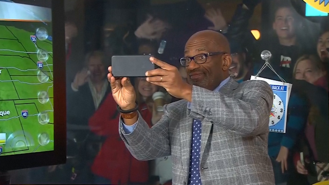 A Raspy-Voiced Al Roker Tries to Break World Record 'Forecast'
