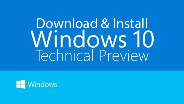 How to Clean Install Windows 10 Technical Preview Build 9879 via ISO Image