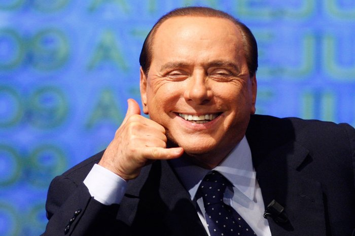Berlusconi call me maybe
