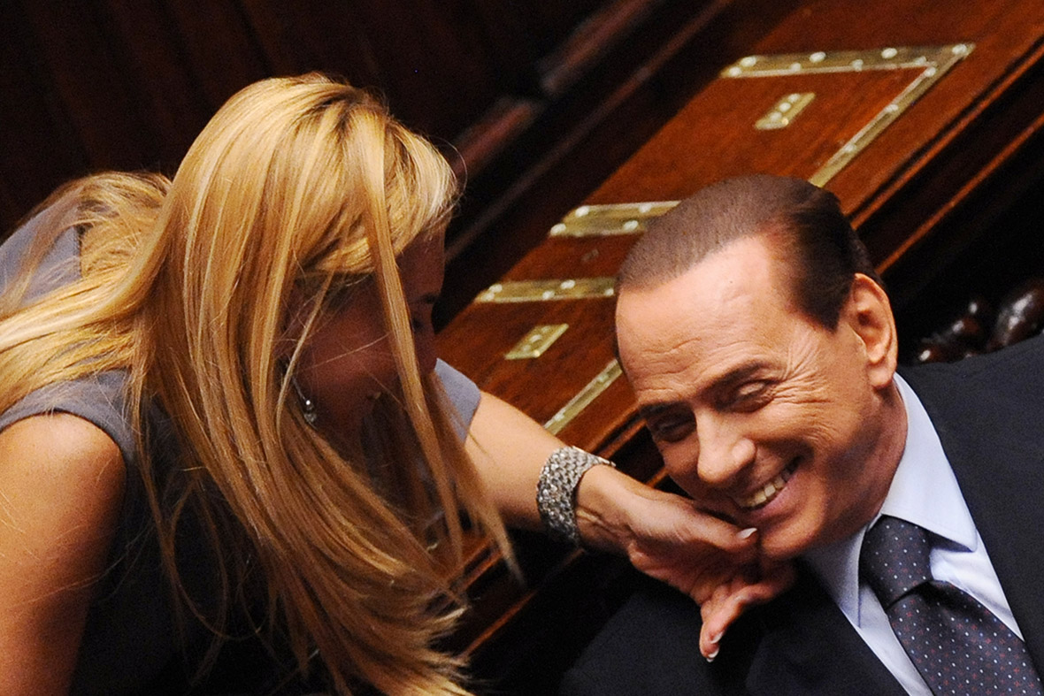 berlusconi woman parliament