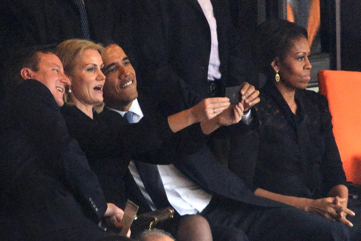 cameron obama selfie mandela funeral