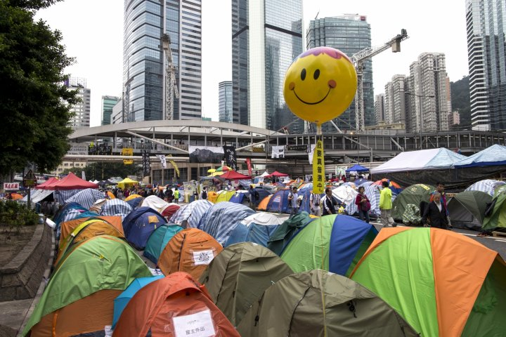 HK Protests China democracy Occupy Central