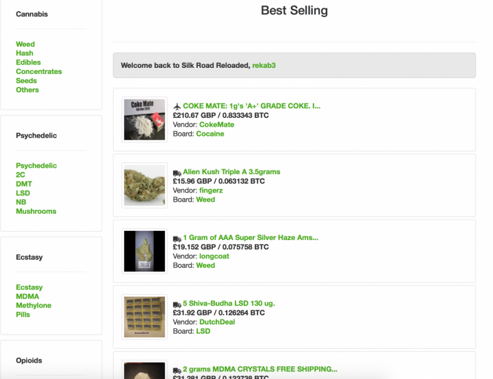 Business as Usual for Dark Web Drugs and Guns Hydra Despite Massive