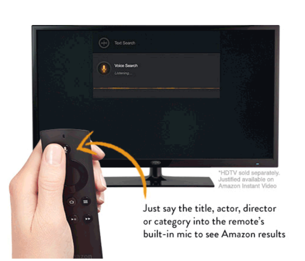 Amazon Fire TV Review Voice Search