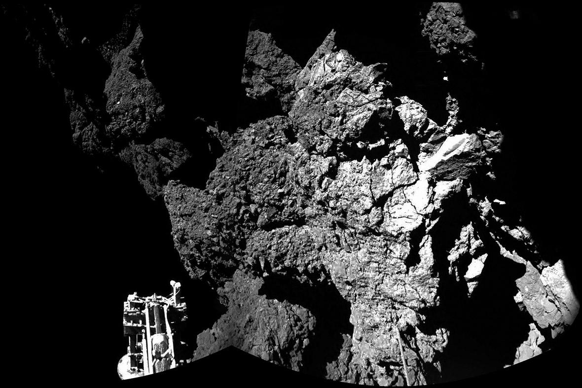 comet landing