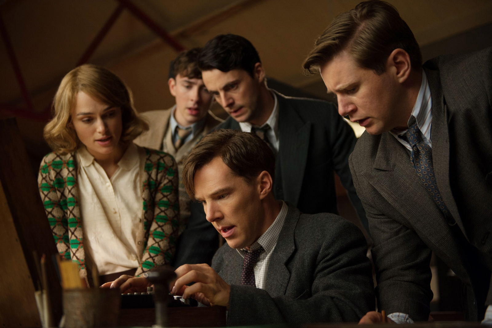Joan Clarke was definitely one of the lads, as far as Alan Turing was concerned