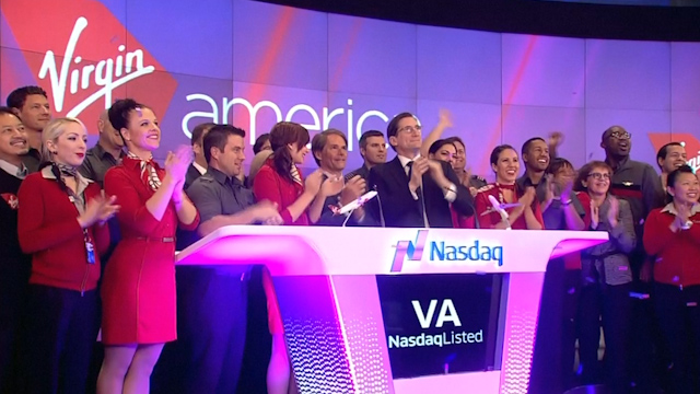 Virgin America IPO Takes Off