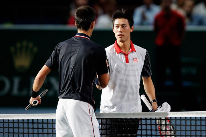 Novak Djokovic v Kei Nishikori