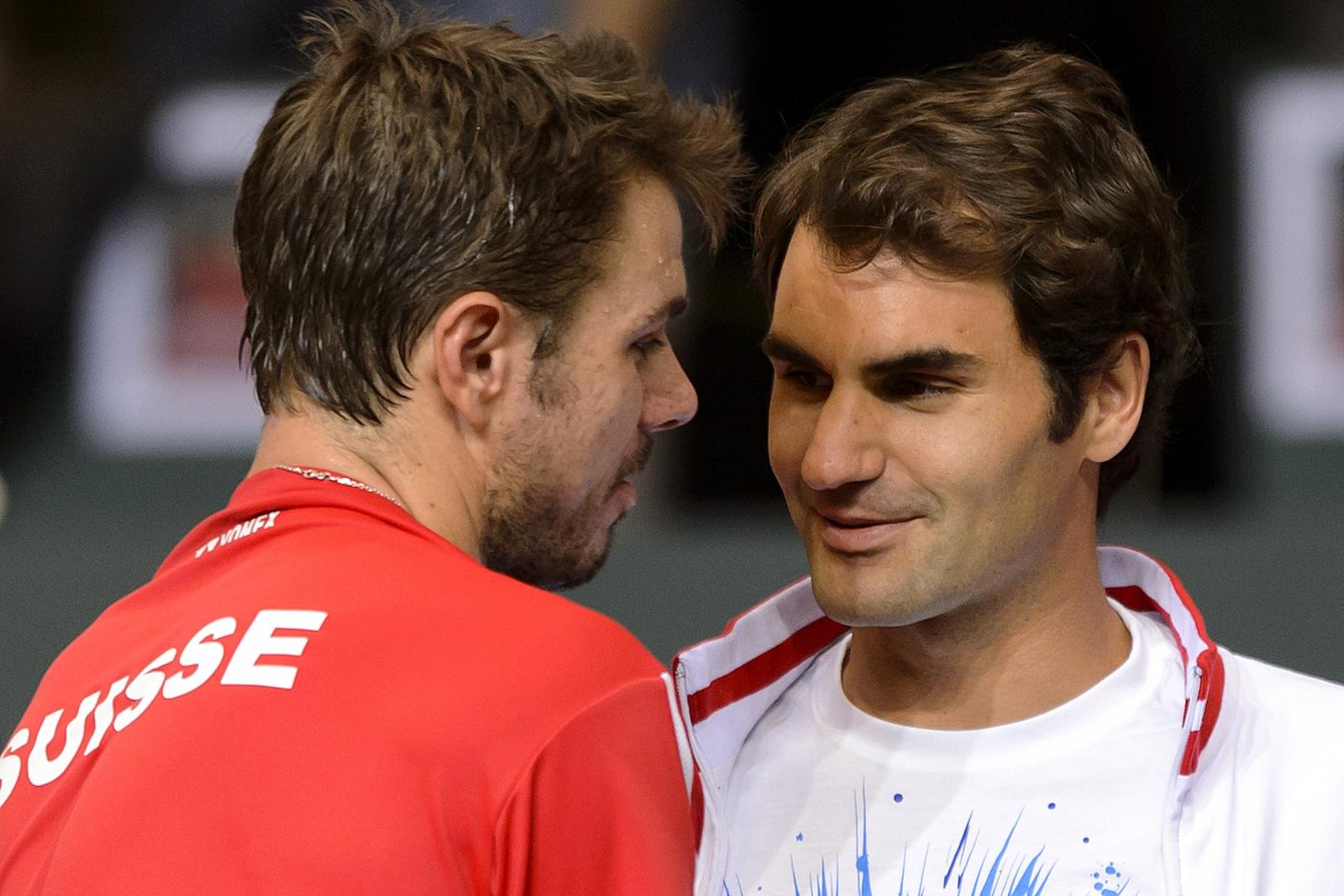 Roger Federer v Stanislas Wawrinka
