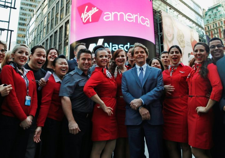 Virgin America Jumps 30% on Nasdaq Debut