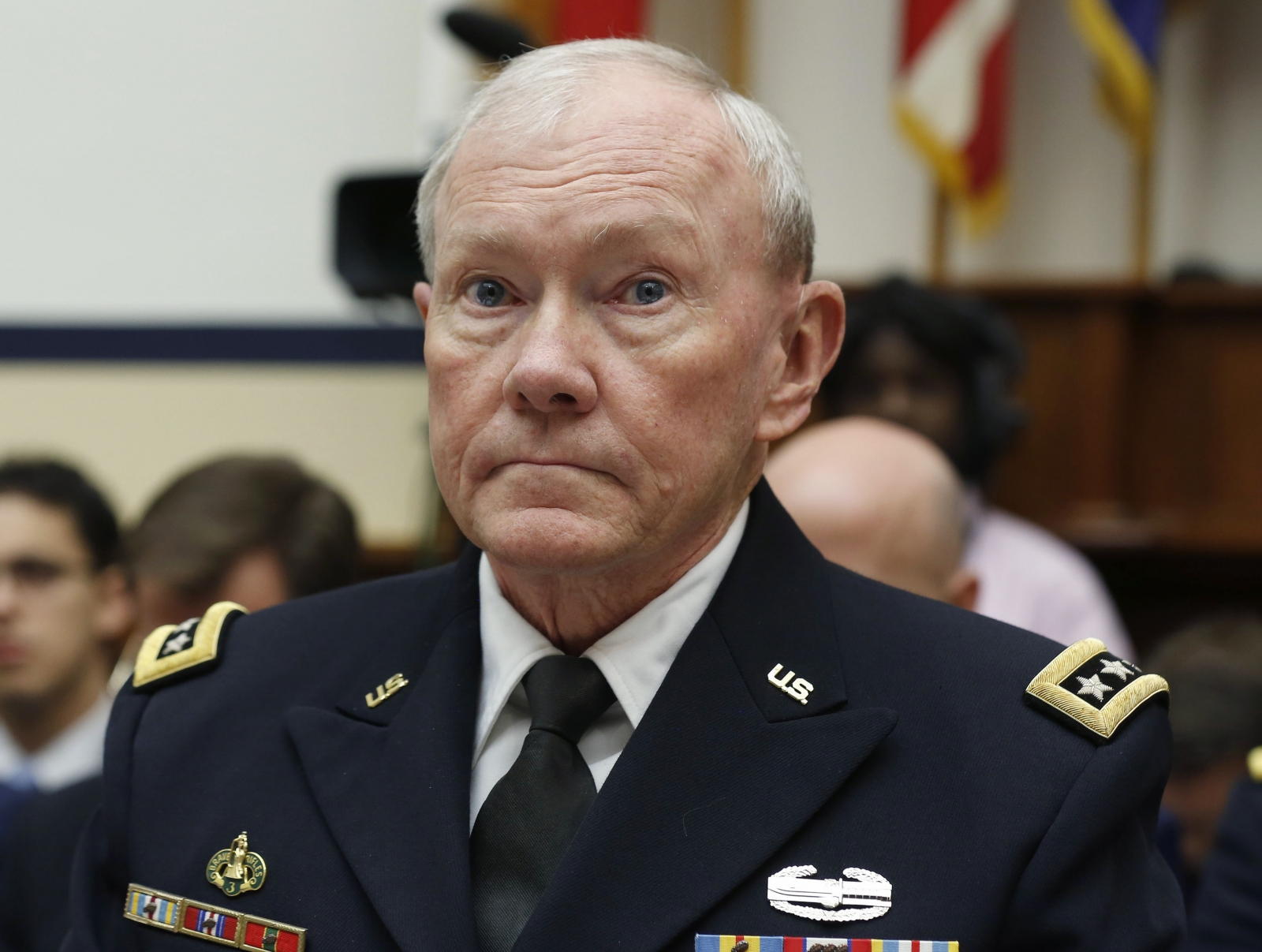 Martin Dempsey in surprise Iraq visit