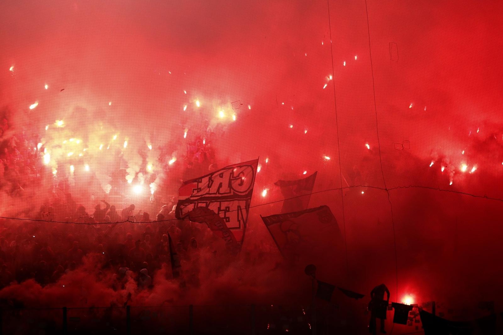 Olympiakos fans