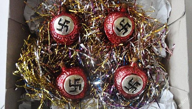 Nazi Cristmas Baubles