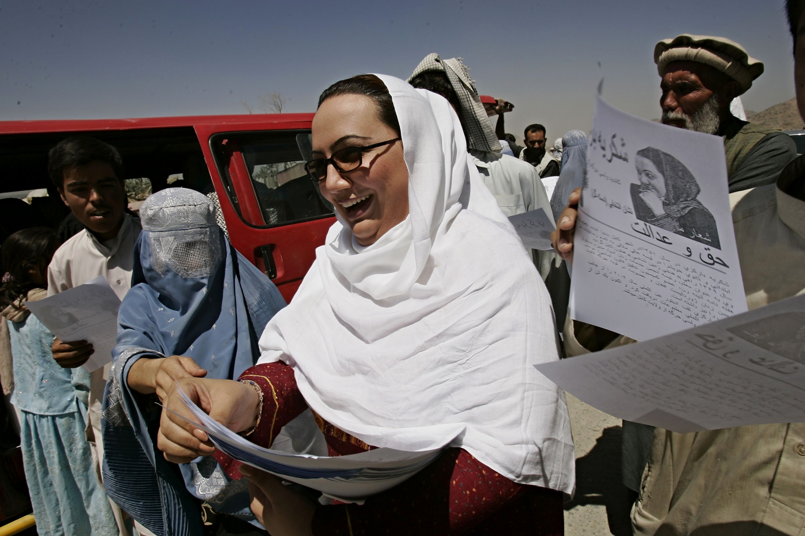 Shukria Barakzai, Afghan MP and advocate of women's rights, was injured in a suicide bomb attack