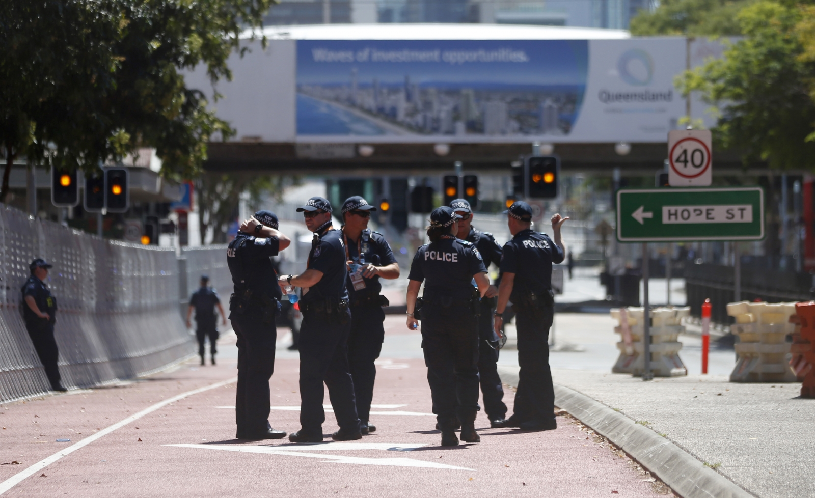 G20 summit security