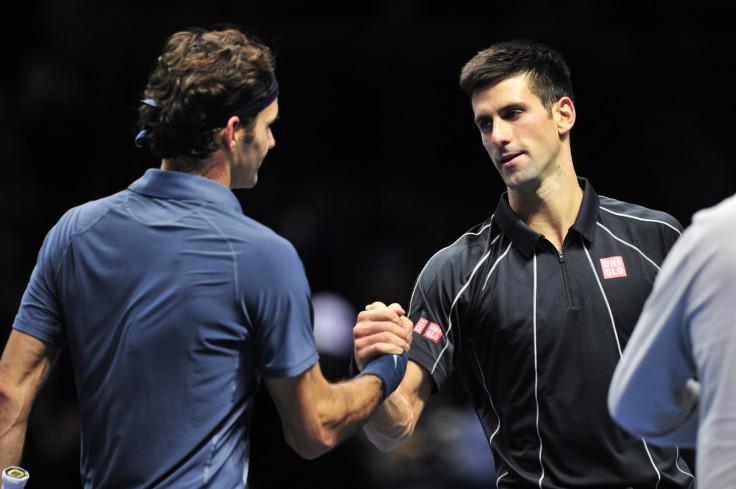 Novak Djokovic v Roger Federer
