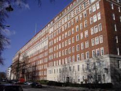 The Dolphin Square estate in Westminster, the location of alleged sexual assaults on children