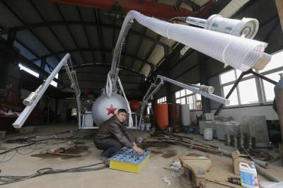 China DIY submarine 2
