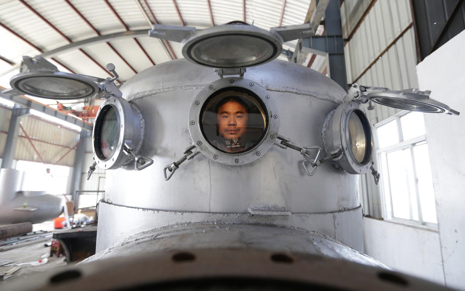 China DIY submarine 4
