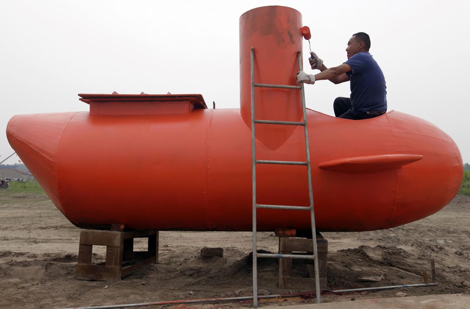 China DIY submarine 5