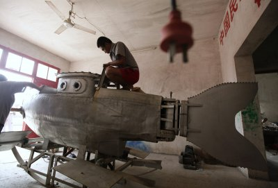 China DIY submarines 6