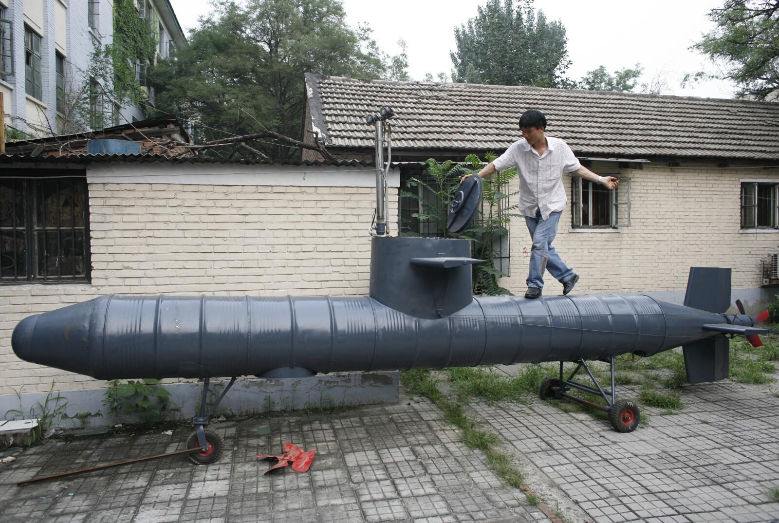 China DIY submarine 7