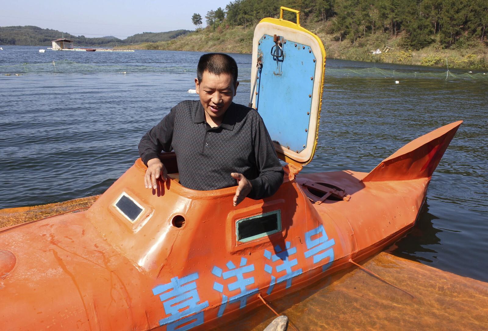 China DIY Submarine 8