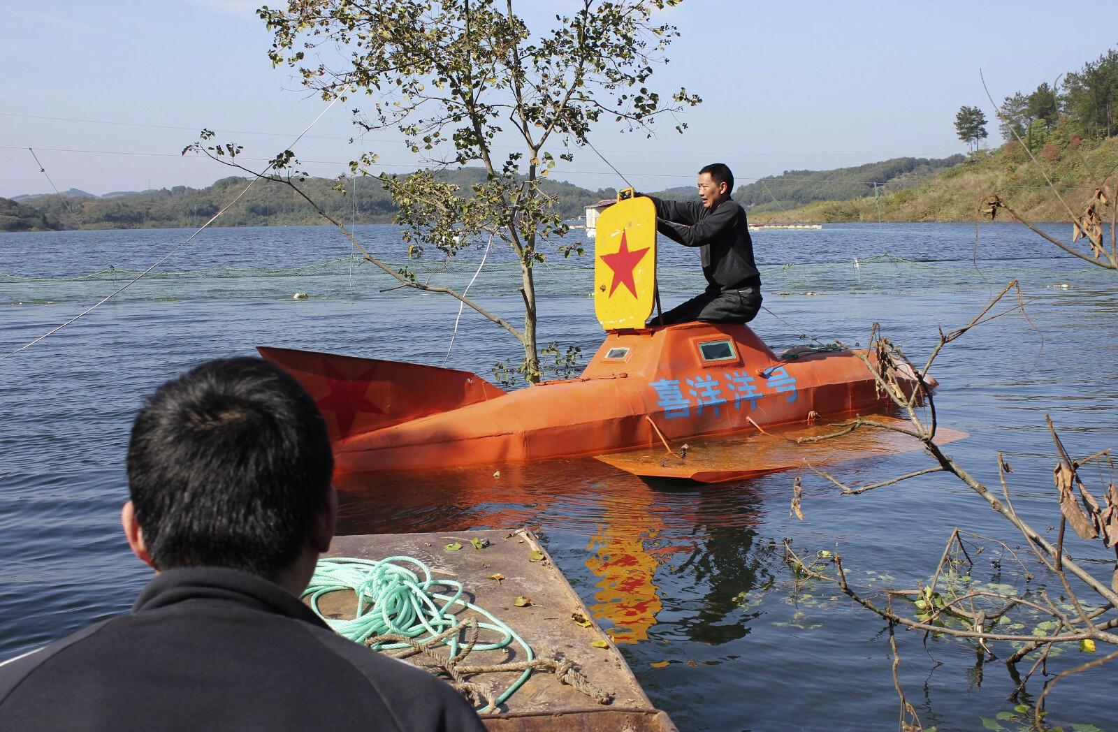 China DIY submarine 10