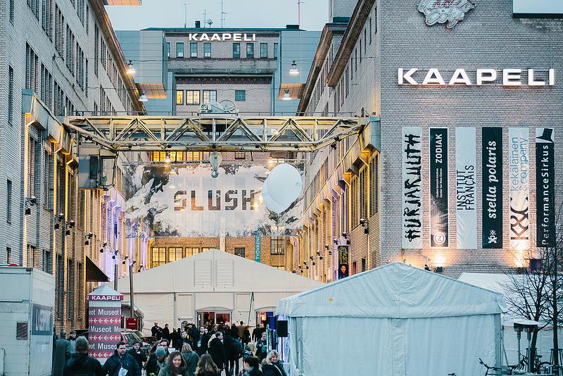 Slush Startup conference Helsinki