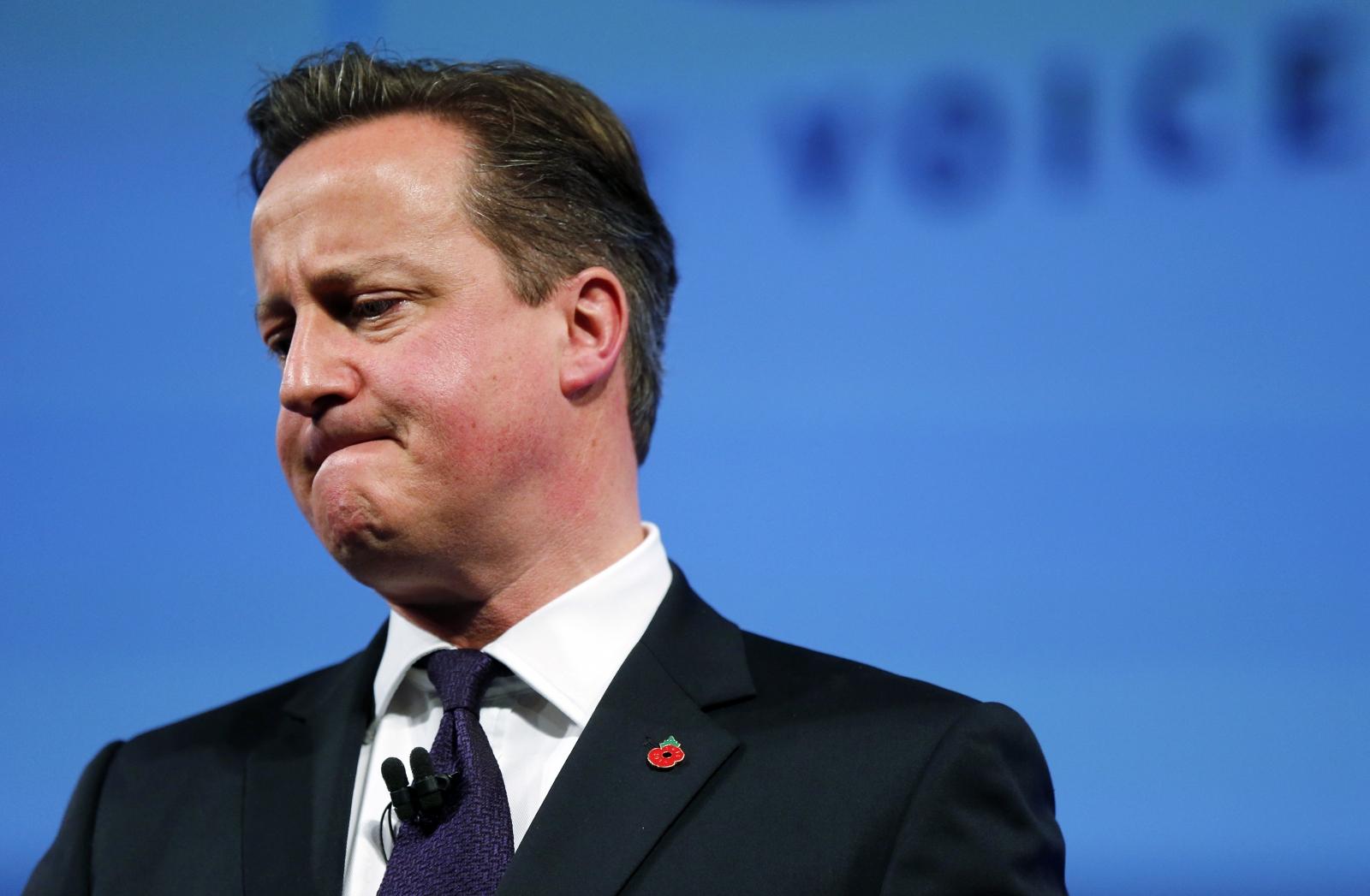 David Cameron on global economy