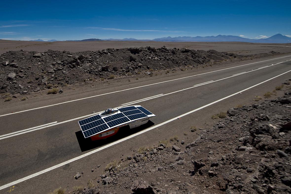 solar car race chile
