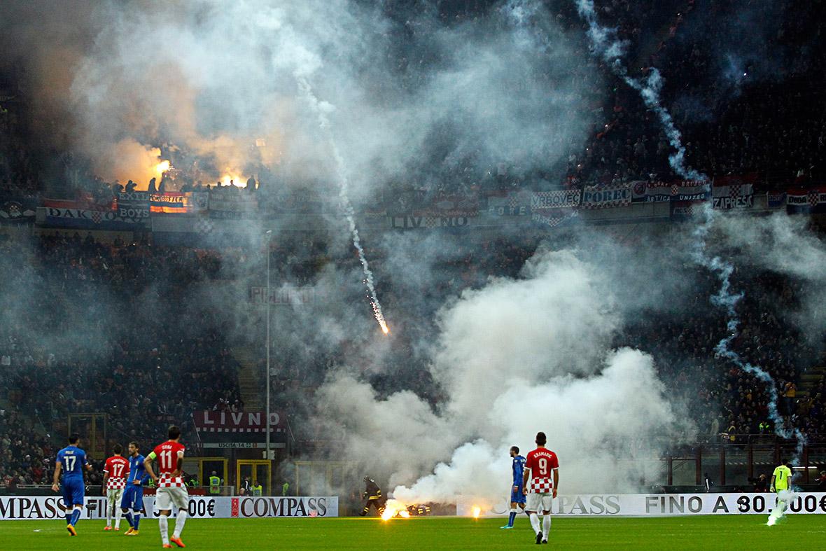 football flares