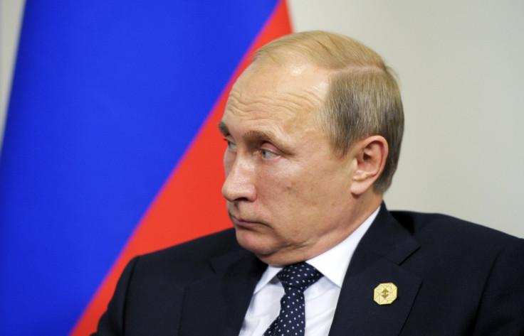 Russia's President Vladimir Putin Ukraine