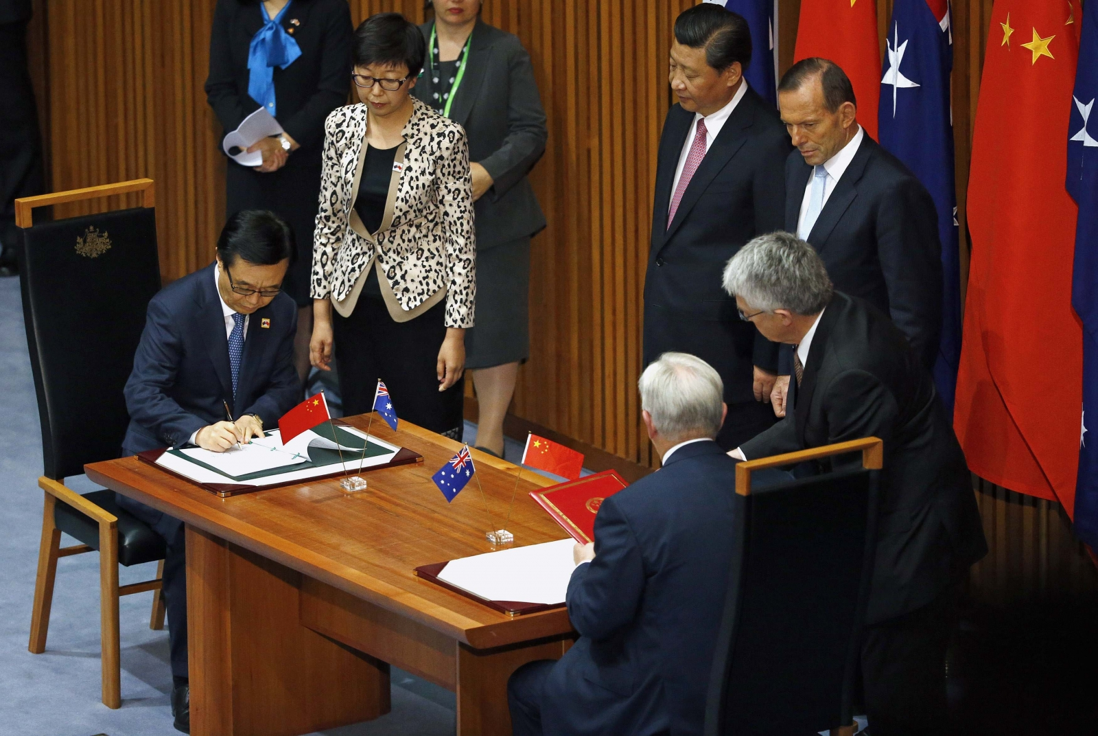 Australia and China Sign Landmark Free Trade Deal
