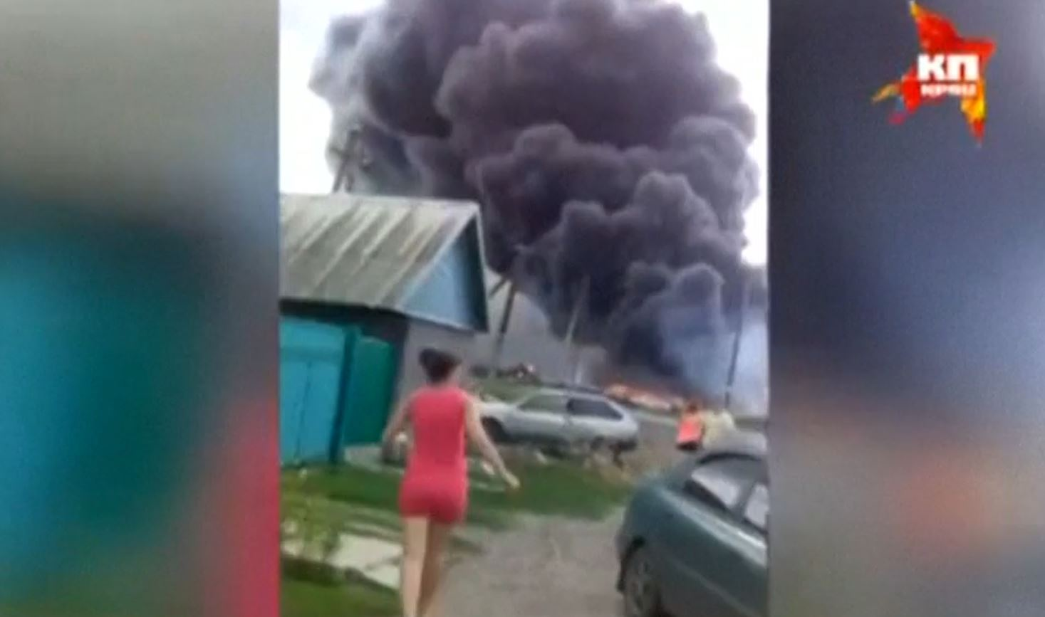 New Amateur Video Shows Aftermath of Malaysia Airlines MH17 Crash