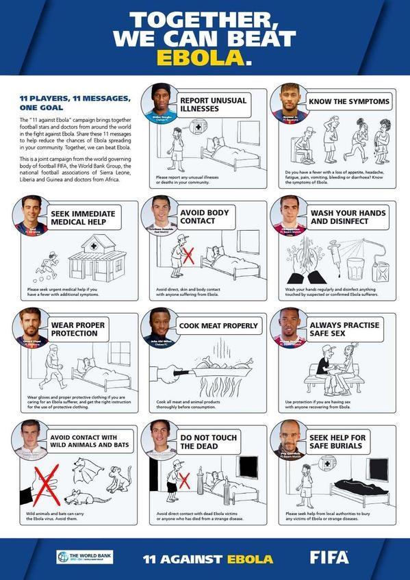 Fifa Ebola Advice