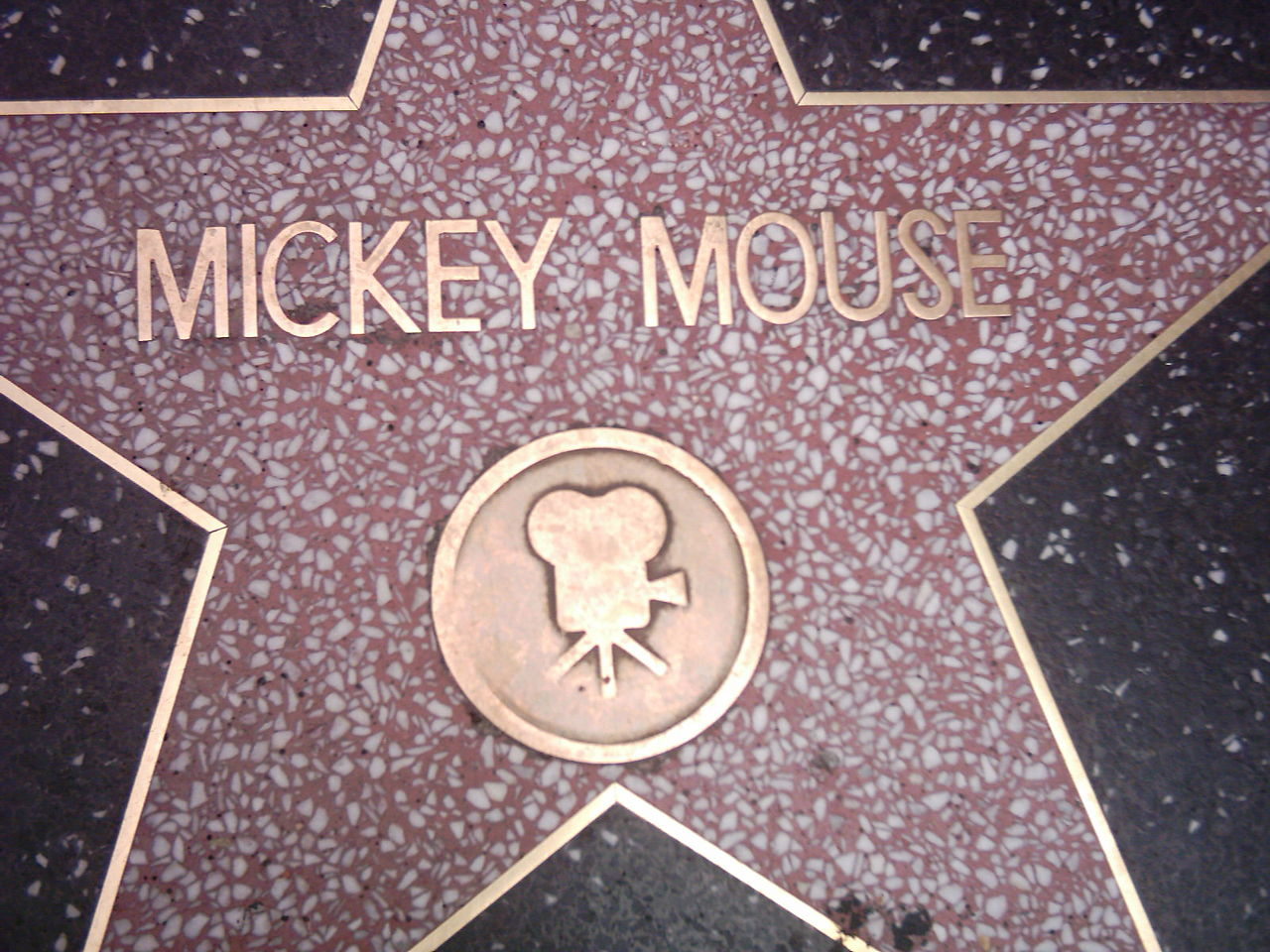 Mickey Mouse star