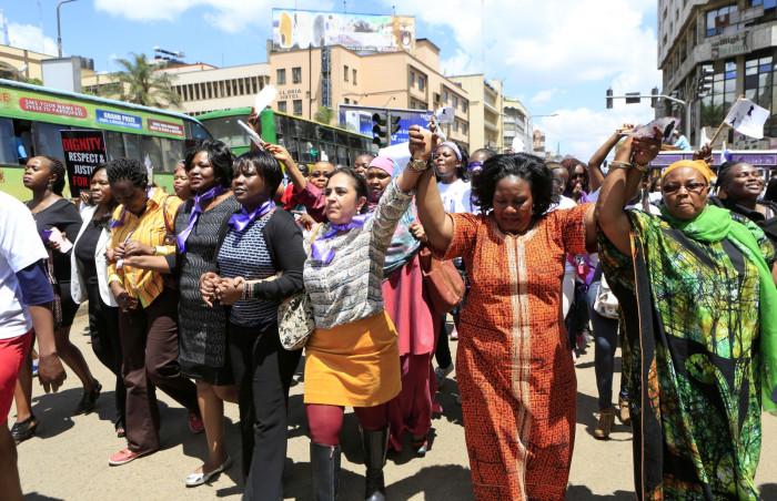 Nairobi protest