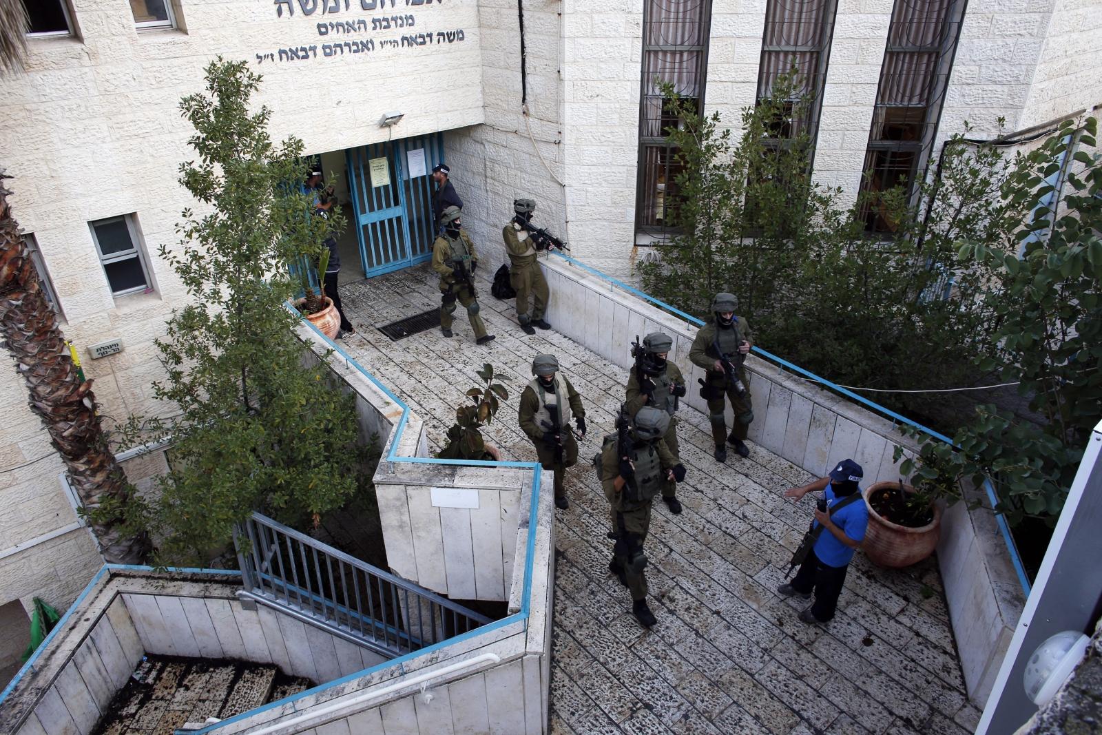 Jerusalem Attack Synagogue