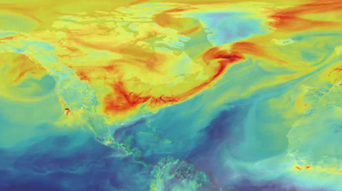 Nasa hi-res global maps predict future weather across world cities