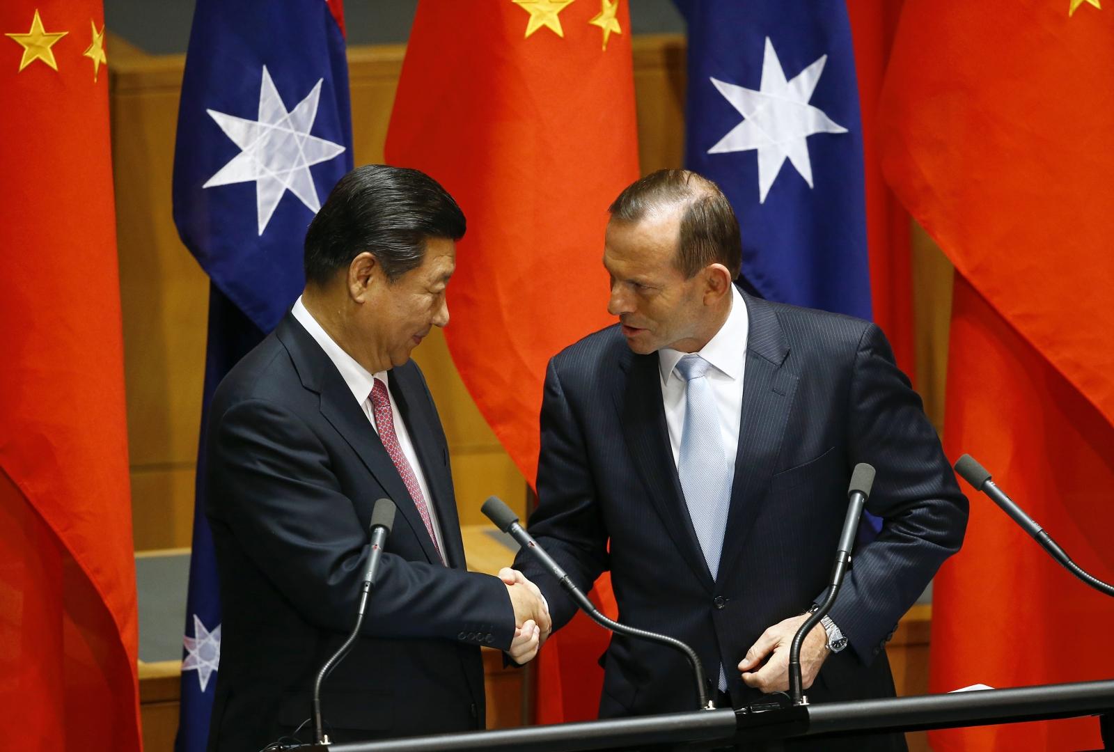 China Australia FTA